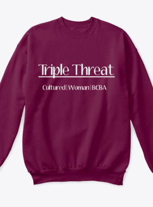 Triple Threat Crewneck sweatshirt
